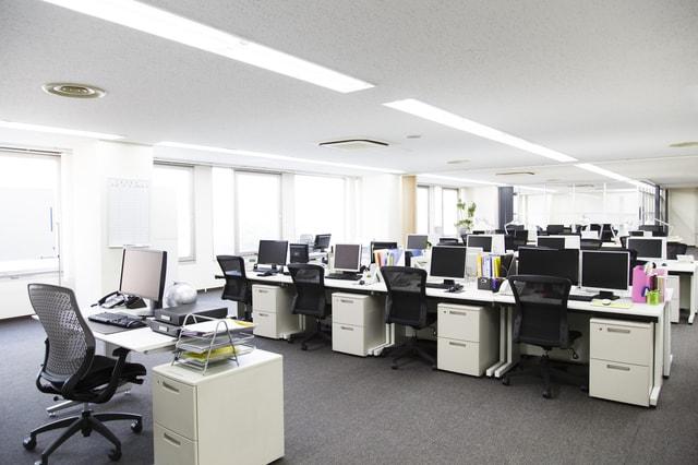 大きなオフィス