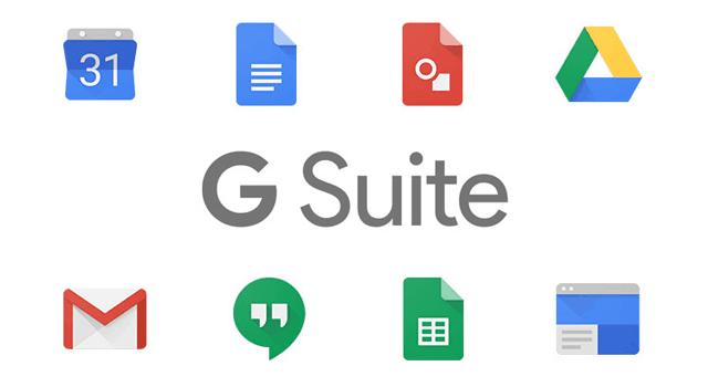 G Suiteのアプリケーション