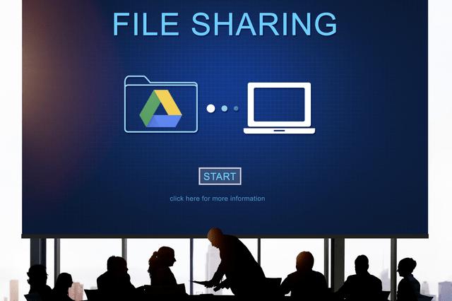 Googleドライブでファイル共有