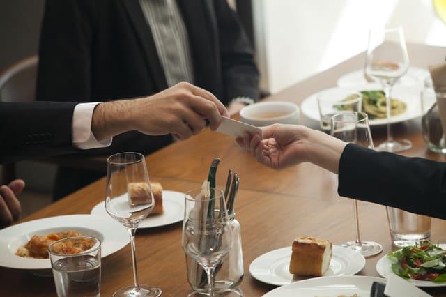 ビジネスの会食