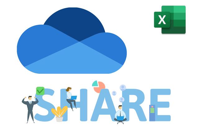 OneDrive・エクセルの共有方法